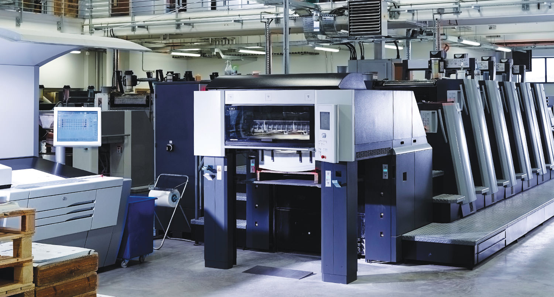St Austell Printing Company Litho Printer