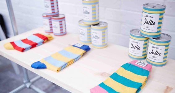 Picking, Packing and Posting Socks