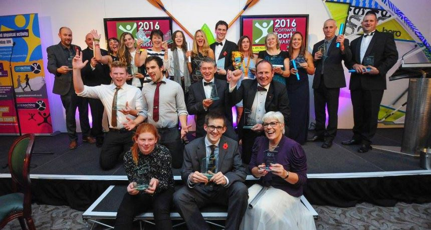 St Austell Printing Company proud to support Cornwall Sports Awards 2017