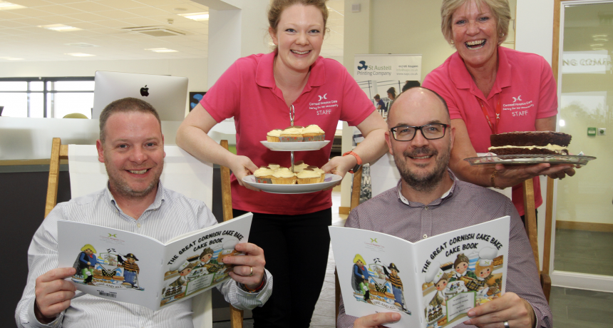 Printing Company Provide the Icing on the Cakey Tea for Charity Cake Book