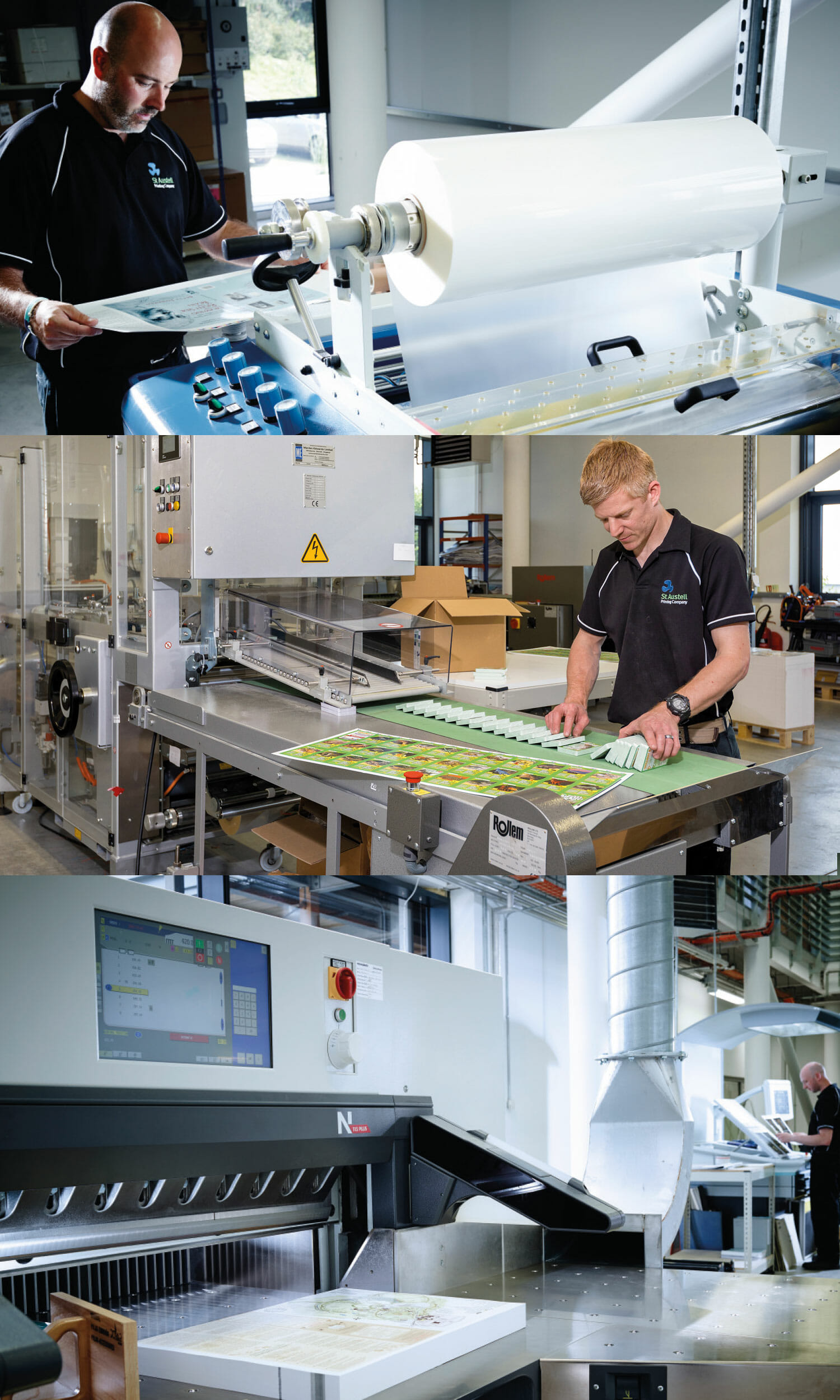 Bindery and Finishing Print Services at SAPC