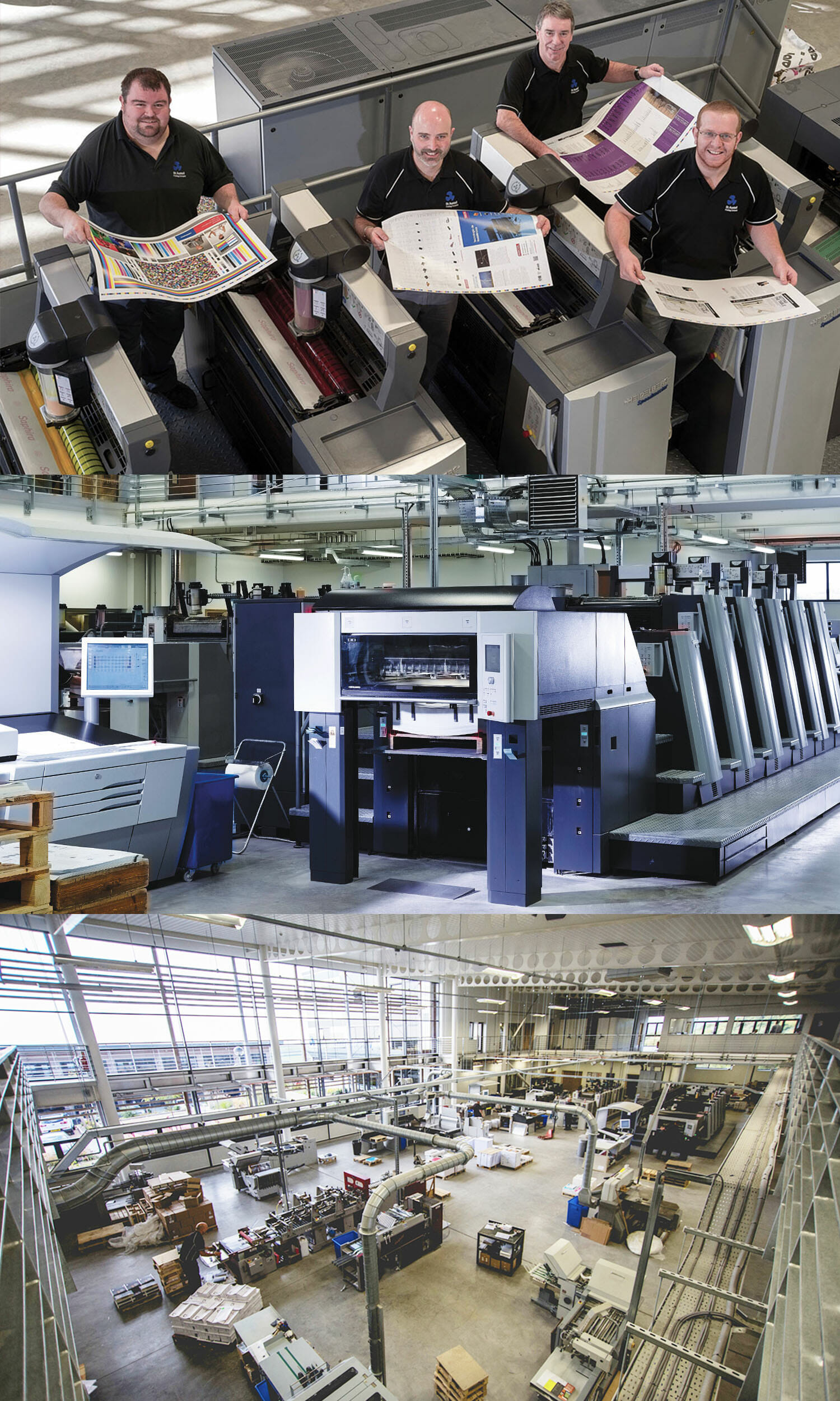 Litho Printing Services at SAPC