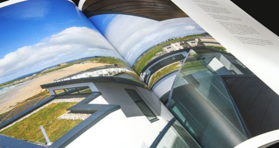 Printed brochure reflects new era of marketing