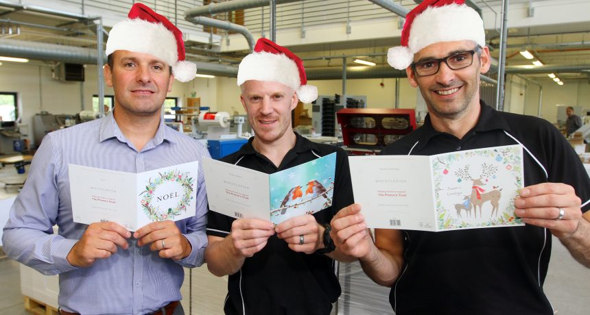 St Austell Printing Company gets in the festive spirit – in July!