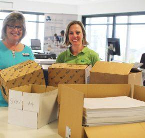 SAPC donates scrap paper to Children's Hospice South West
