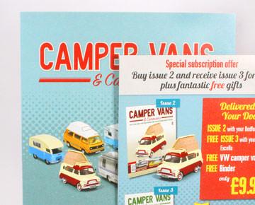 Camper Van Brochure Print