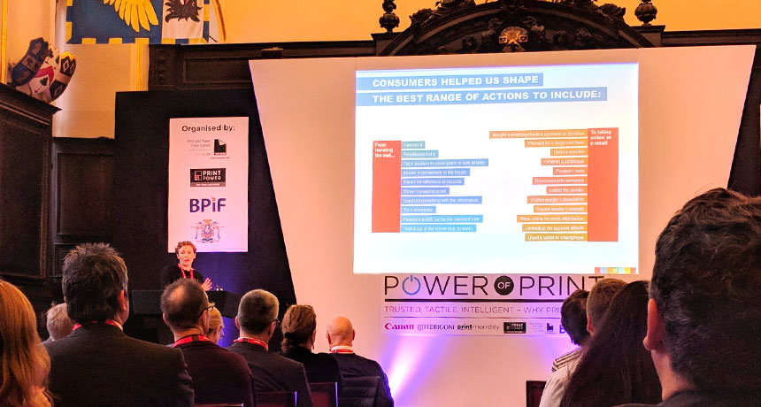 Useful learnings from the Power of Print Event