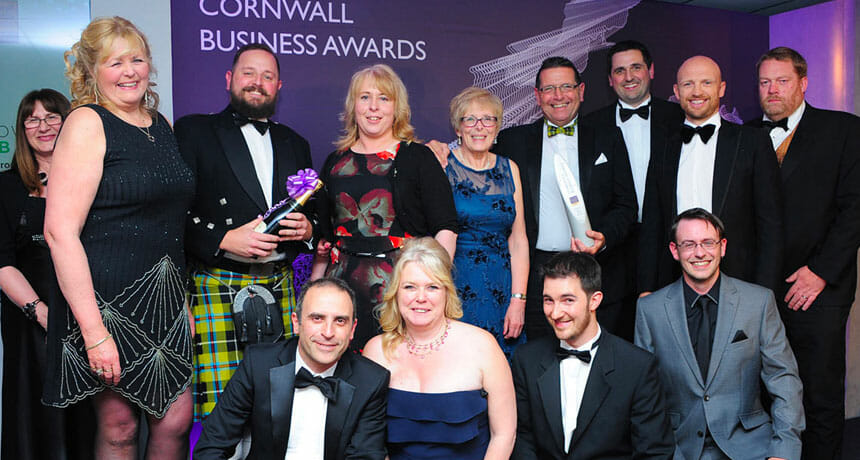 SAPC announces Cornwall Business Awards sponsorship