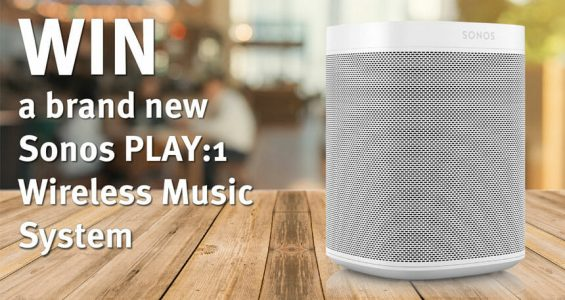 Win a brand new Sonos Speaker at these upcoming business shows!