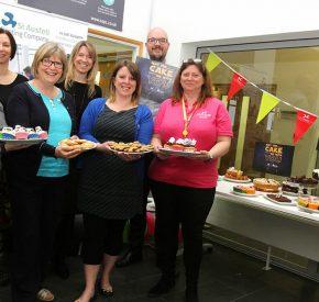 Star Wars Cake Bake raises £340 for Cornwall Hospice Care