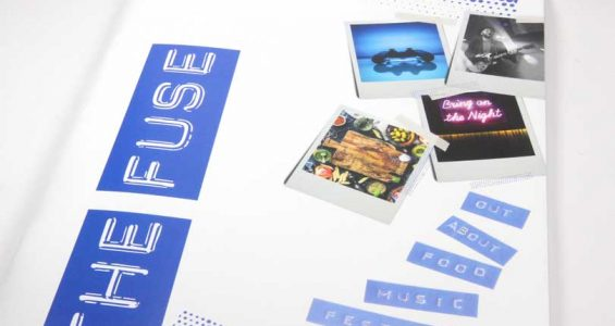 LED-UV press fuses uncoated stock with vibrant colour for magazine