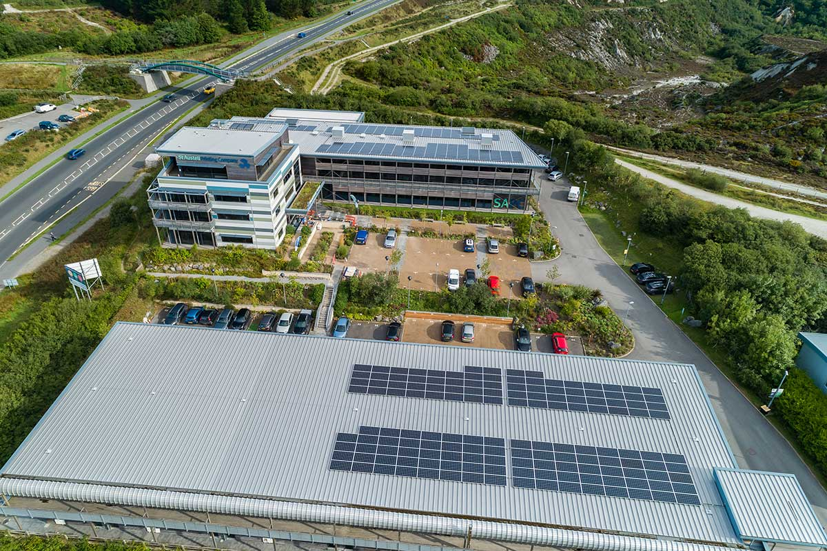 Garden Centre: SAPC Add To Sustainability With Solar Panel Installation