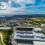 St Austell Printing Company Solar Panels