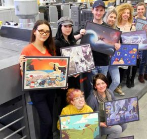 SAPC team up with Falmouth University students for 2019 calendar project