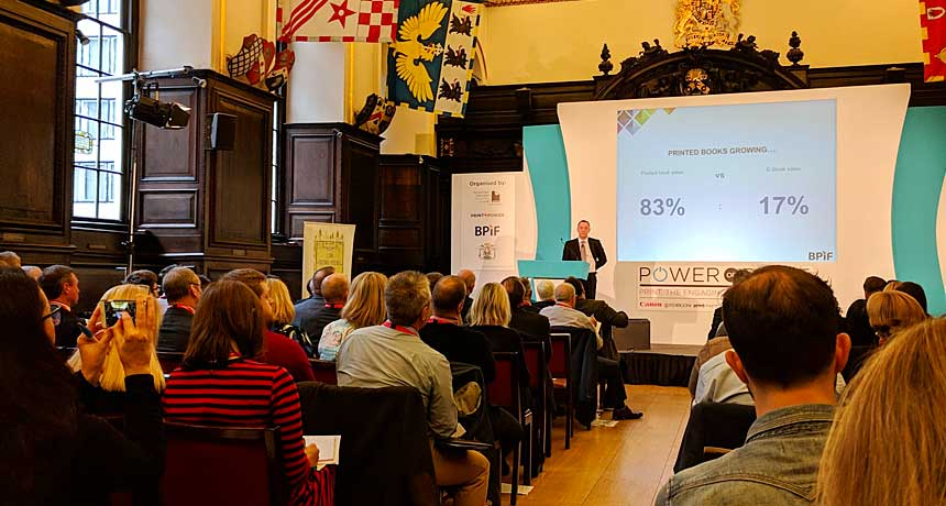 Useful learnings from the Power of Print event 2018