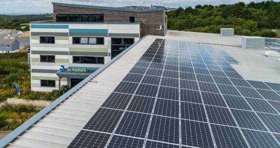 Solar Panels at SAPC