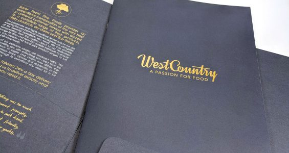 Premium design and print for a premium brand