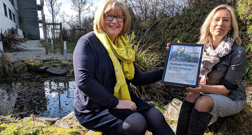 SAPC chosen as preferred printing partner for Cornwall Wildlife Trust