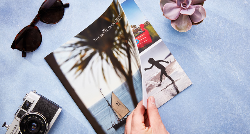 Quality hotels and hospitality providers deserve quality print.