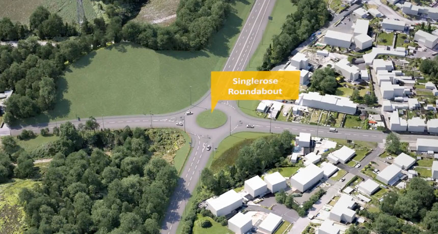 Fantastic news for St Austell as A30 link road is granted planning permission
