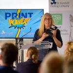 Speaker at the Print Power Event