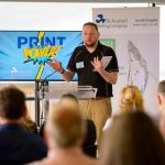 Matt Bunt of SAPC at the Print Power Event