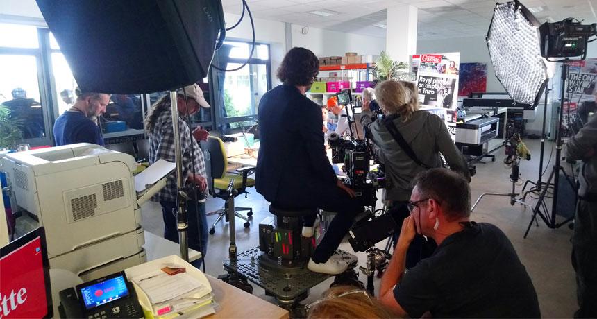 SAPC provides location for German film crew