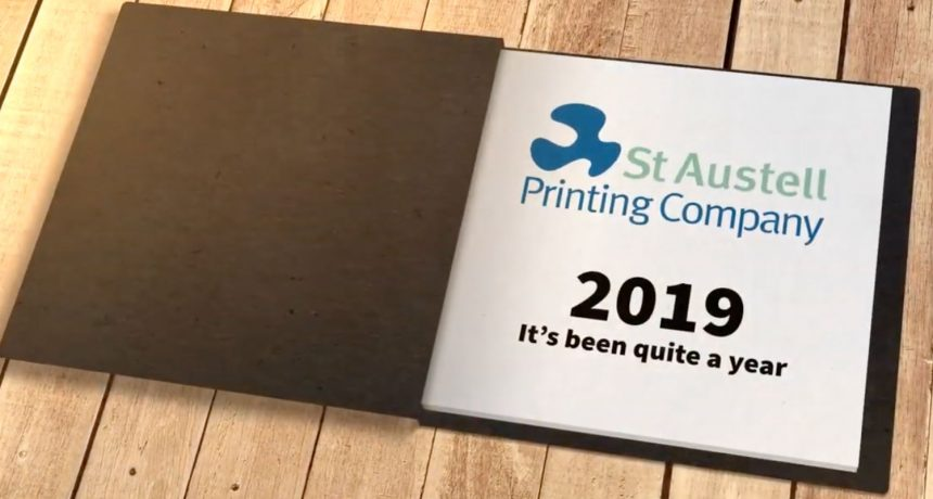 2019 at St Austell Printing Company