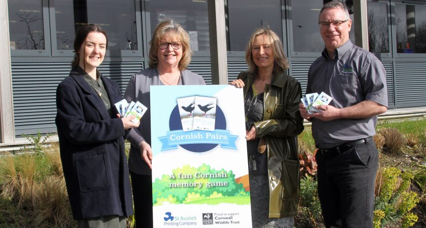 SAPC release Cornwall Wildlife Trust card game