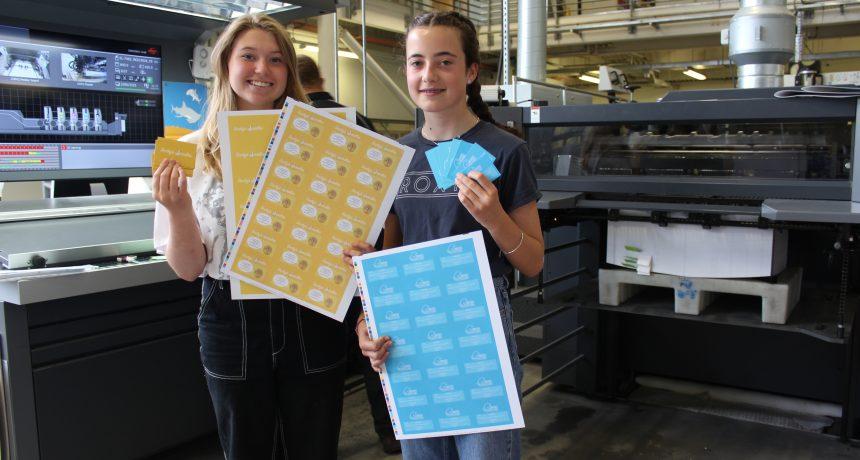 Impressive design skills from Isabelle & Dellen during their work experience week